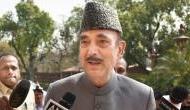 Ghulam Nabi Azad stopped at Srinagar Airport