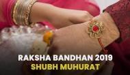 Raksha Bandhan 2019 Shubh Muhurat: Know correct time to tie Rakhi on your brother's wrist