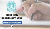 CBSE Class 10th Board Exam 2020: Board to conduct two separate exams for this subject; read details