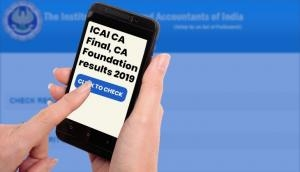 ICAI CA Result 2019: CA final, foundation results to be released soon; know how to check via SMS