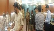 NSA Ajit Doval interacts with security personnel in valley