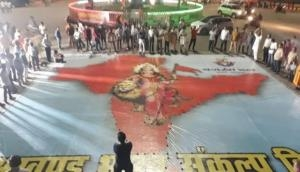 Prayagraj: Bajrang Dal pledges for 'Akhand Bharat' on Pakistan Independence Day
