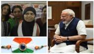 Raksha Bandhan 2019: जिस महिला ने लड़ी तीन तलाक की लड़ाई वो बांधेगी पीएम की कलाई पर राखी