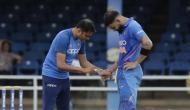 तेज रफ्तार गेंद से चोटिल हो गया था कोहली का अंगूठा, विराट पारी खेल टीम को दिलाई जीत