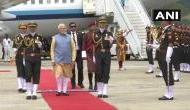 PM Modi reaches Bhutan, receives guard of honour
