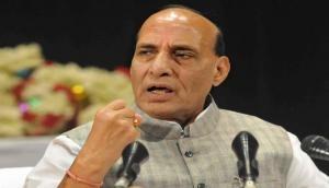 Rajnath Singh slams Congress over Article 370