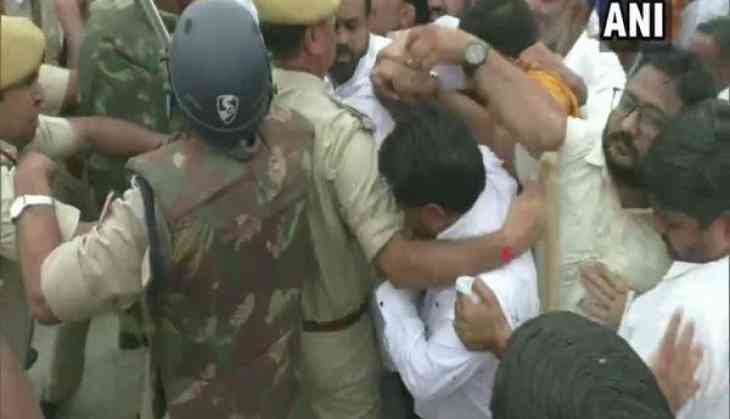 Bhiwadi lynching case: Clash breaks out between protesters and police