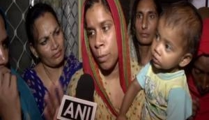 Family of Bhiwadi man killed by mob stages protest, wife threatens suicide over police inaction