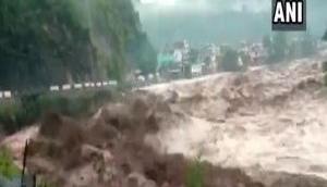 Uttarakhand: Cloudburst hits Mori Tehsil in Uttarkashi, rescue teams dispatched