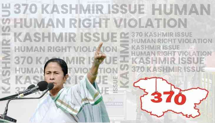 On World Humanitarian Day, CM Mamata Banerjee alleges 'human rights violations' in Kashmir