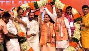 Telangana: Around 60 prominent TDP leaders join BJP