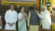 Sonia Gandhi, Rahul, BJP leaders pay tributes to late Rajiv Gandhi on his 75th birth anniversary