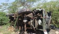 राजस्थान: पहाड़ी से नीचे गिरा वायु सेना का ट्रक, तीन जवानों की दर्दनाक मौत