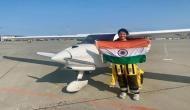 मुंबई की महिला पायलट ने रचा इतिहास, अटलांटिक और प्रशांत महासागर के ऊपर से अकेले भरी उड़ान