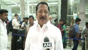 DMK MP Bharathi condemns Chidambaram's arrest; accuses BJP of 'intimidating opposition'