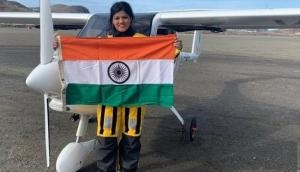 Meet 23-years-old Captain Aarohi Pandit, first solo woman pilot to cross Atlantic and Pacific oceans