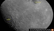 First moon image captured by Chandrayaan-2 taken at a height of 2650 km from lunar surface