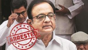 INX media case: CBI arrests former Union minister P Chidambaram from his residence