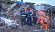 महाराष्ट्र के भिवंडी में भीषण हादसा, चार मंजिला इमारत गिरी, दो लोगों की मौत कई दबे
