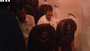 Delhi: Opposition delegation including Rahul Gandhi leave for Jammu-Kashmir