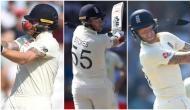 ऑस्ट्रेलियाई गेंदबाज ने फेंकी तेज रफ्तार बाउंसर, हेलमेट के हुए दो टुकड़े, बाल-बाल बचे बेन स्टोक्स