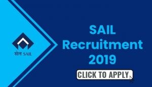 SAIL Recruitment 2019: Vacancies released for Bhilai Steel Plant; apply for November 15