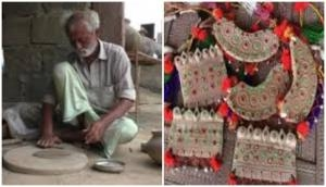 Rajasthan: Family makes jewellery using clay in Barmer