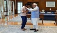 PM Modi meets PV Sindhu, calls her India's pride