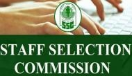 SSC Recruitment 2019: Apply for Group C, D posts; salary upto Rs 1.12 lakh