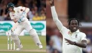 Jofra Archer hits back at Steve Smith, says i can't get him out if he isn't there