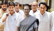 कांग्रेस अध्यक्ष पद के लिए मध्य प्रदेश में घमासान, सोनिया गांधी से मिले कमलनाथ