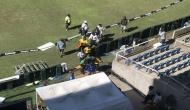 Vivian Richards falls ill during pre-match show, gets carried off the field