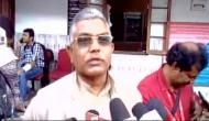Bengal BJP President Dilip Ghosh heckled by TMC supporters