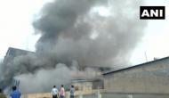 Gujarat: Fire breaks out in cloth factory in Surat