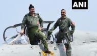 IAF Chief BS Dhanoa, Abhinandan Varthaman fly MiG-21 together