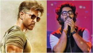 Arijit Singh collaborates with Hrithik Roshan for party anthem 'Ghungroo' in War