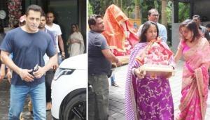 Ganesh Chaturthi: From Govinda to Salman Khan, celebrities host Ganesh Utsav at home
