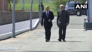 PM Modi visits 'Zvezda' Shipbuilding Complex with Russian President Vladimir Putin