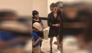Virat Kohli, Anushka Sharma take autograph of 7-year old boy; watch video