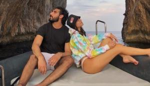 Suniel Shetty's son Ahan confirms dating Tania Shroff with their latest PDA