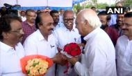 Kerala Governor-designate Arif Mohammad Khan arrives in Trivandrum, will take charge tomorrow