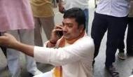 पुलिस ने काटा था चालान तो सड़क पर फूट-फूटकर रोने लगे थे BJP नेता, Video हुआ वायरल