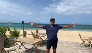 Ravi Shastri gets trolled on twitter for posing with divine punch in Jamaica