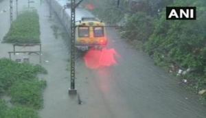 Maharashtra: Heavy rains disrupt train services