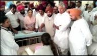 Batala factory blast: Punjab CM Amarinder Singh visits injured at hospital, assures enquiry
