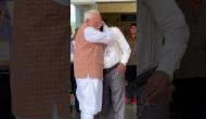 Chandrayaan 2: PM Modi hugged, consoled ISRO Chief after his emotional breakdown; see video