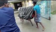 Assam: Woman gives birth on make-shift stretcher while being carried for 5 km