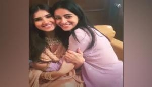 Ananya Panday reunites with 'SOTY2' costar Tara Sutaria for Ganesh Chaturthi celebrations
