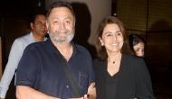 Rishi Kapoor alongside Neetu Kapoor returns to India after 11 months of cancer treatment