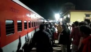 Smoke engulfs 2 coaches of Darbhanga-Kolkata Express